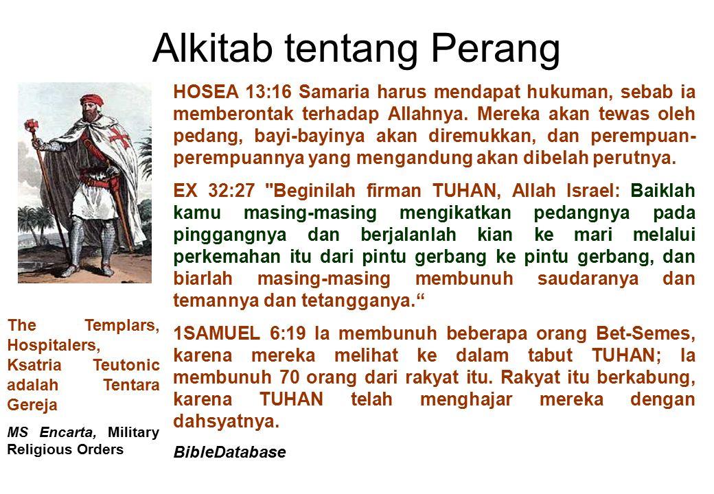 Alkitab tentang Perang