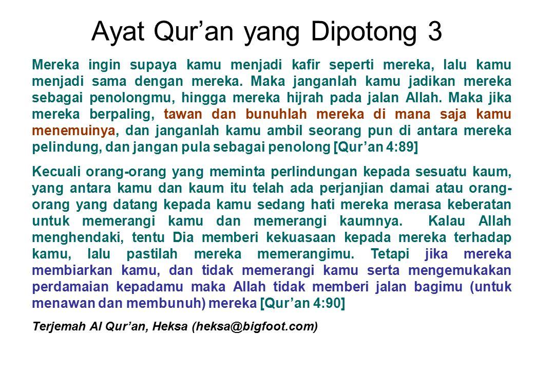 Ayat Qur'an yang Dipotong 3