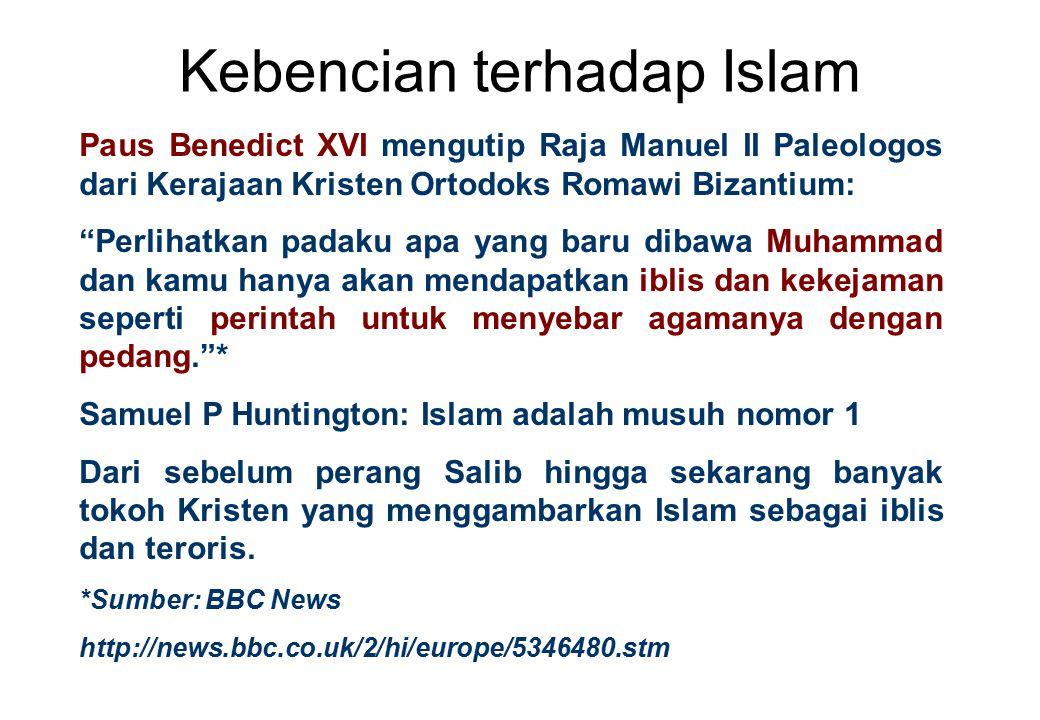 Kebencian terhadap Islam