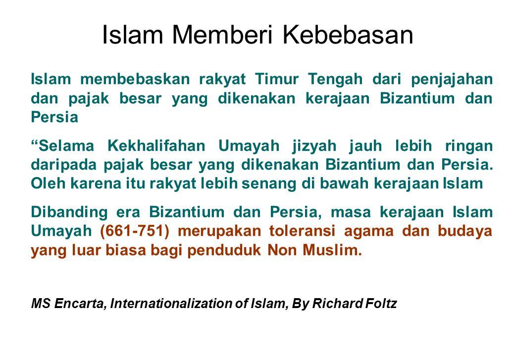 Islam Memberi Kebebasan