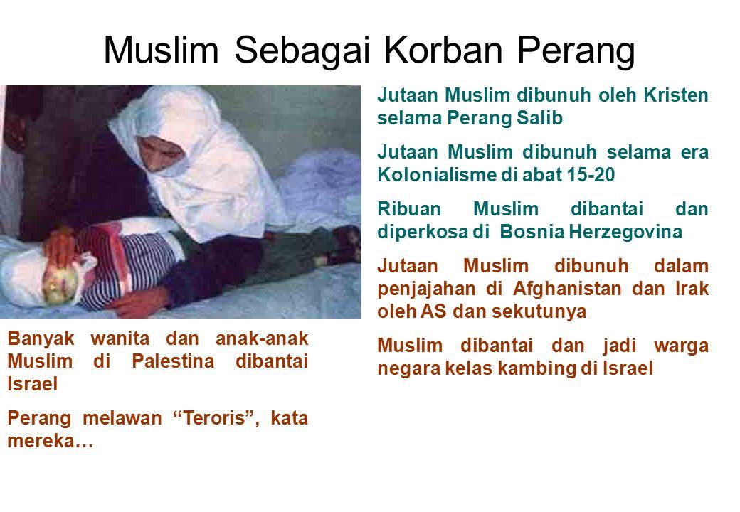 Muslim Sebagai Korban Perang