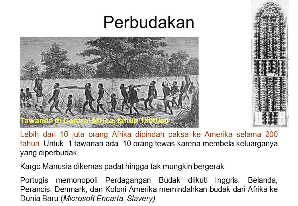 Perbudakan Tawanan di Central Africa, tahun 1800-an