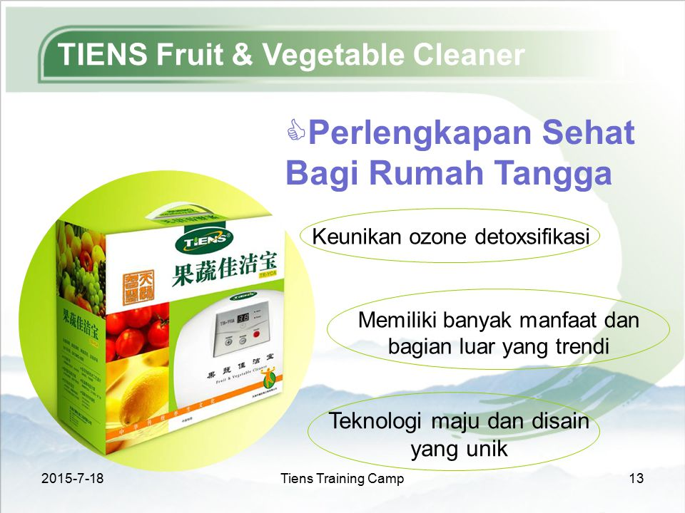TIENS Fruit & Vegetable Cleaner