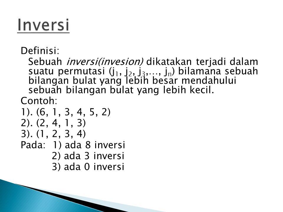 Inversi