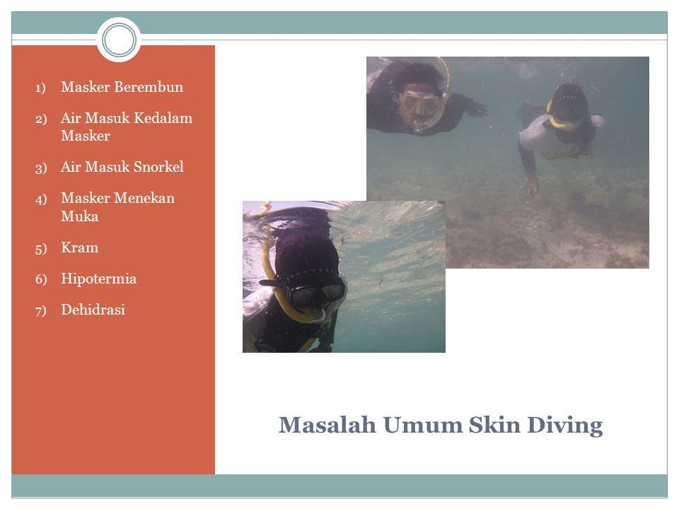 Masalah Umum Skin Diving