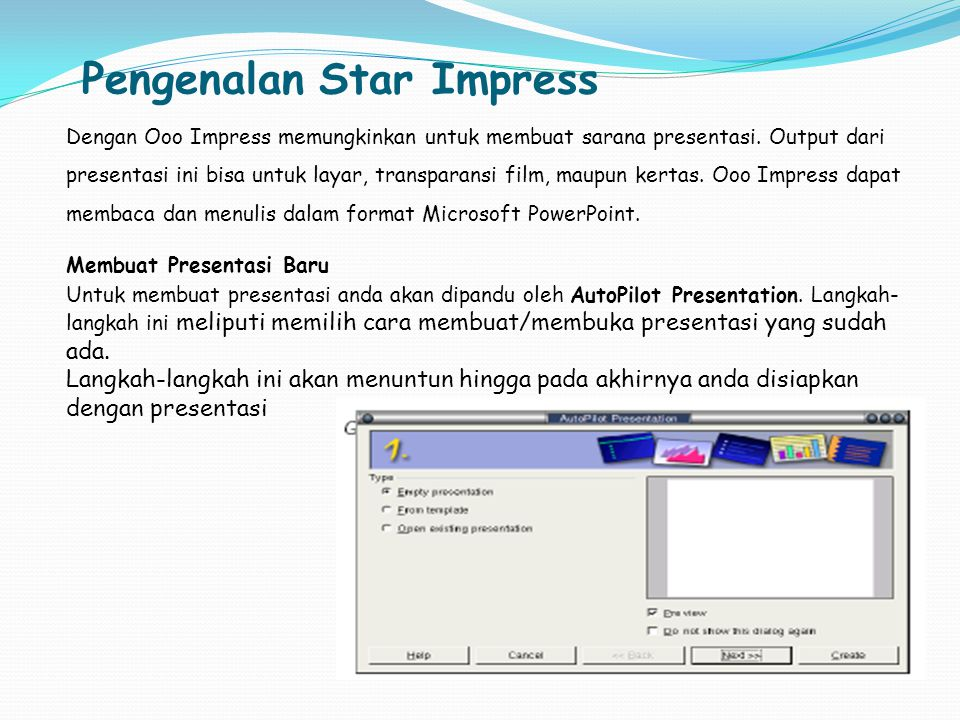 Pengenalan Star Impress