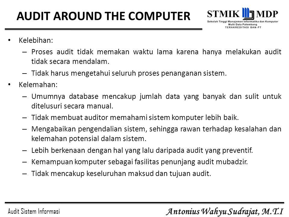 AUDIT AROUND THE COMPUTER
