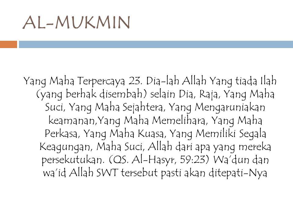 AL-MUKMIN