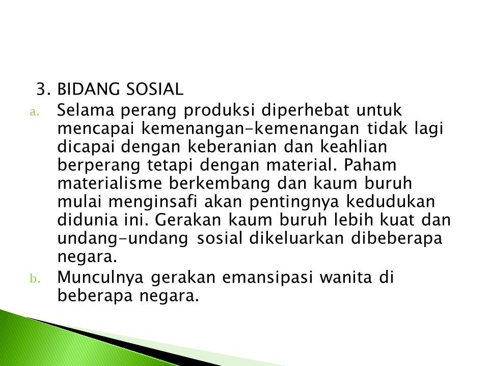 3. BIDANG SOSIAL
