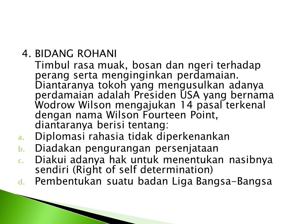 4. BIDANG ROHANI
