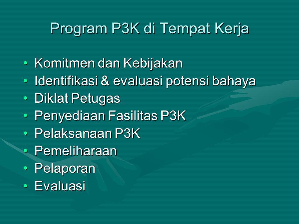 Program P3K di Tempat Kerja