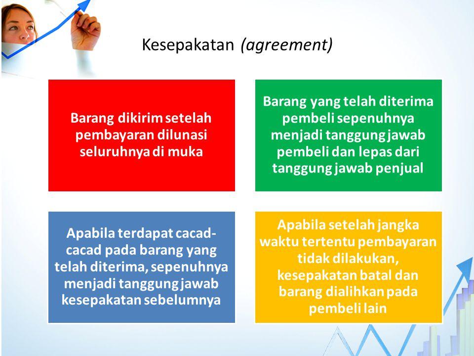 Kesepakatan (agreement)