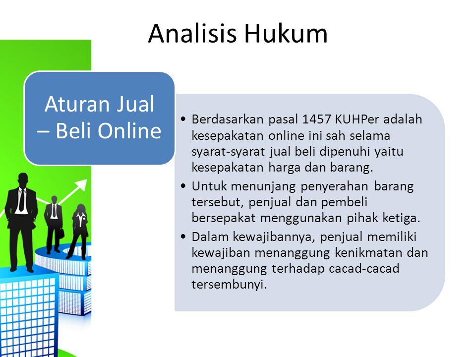 Aturan Jual – Beli Online