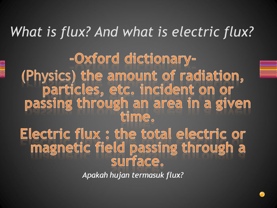 What is flux And what is electric flux