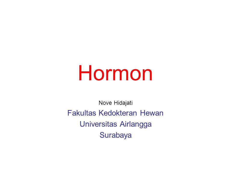 Nove Hidajati Fakultas Kedokteran Hewan Universitas Airlangga Surabaya