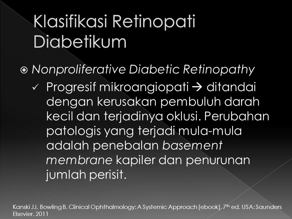 Klasifikasi Retinopati Diabetikum