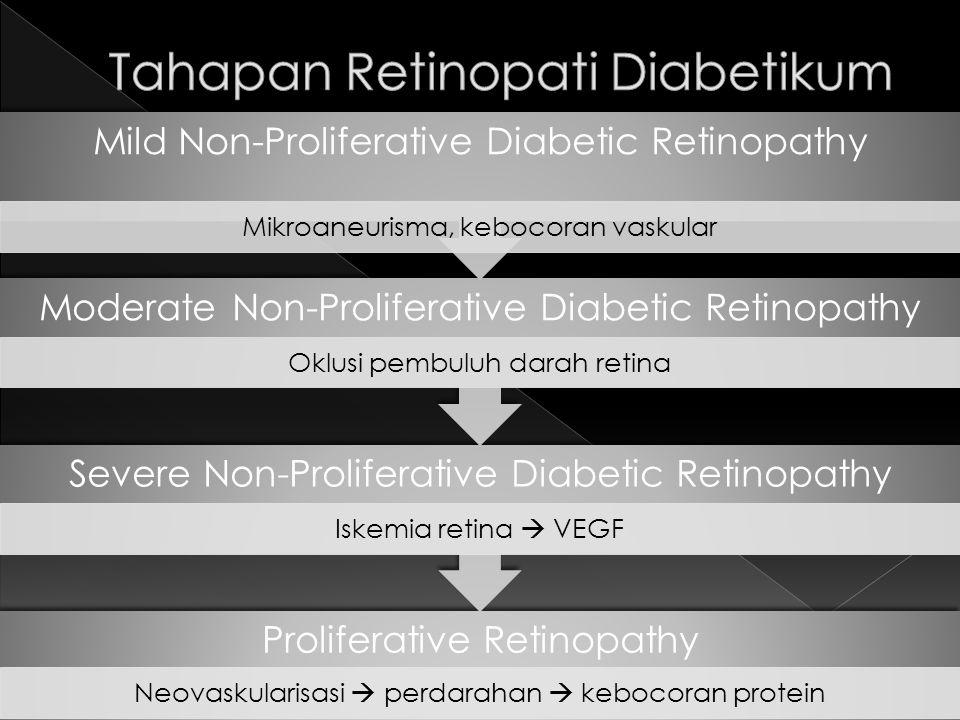 Tahapan Retinopati Diabetikum