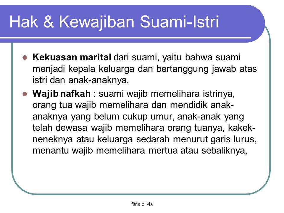 Hak & Kewajiban Suami-Istri