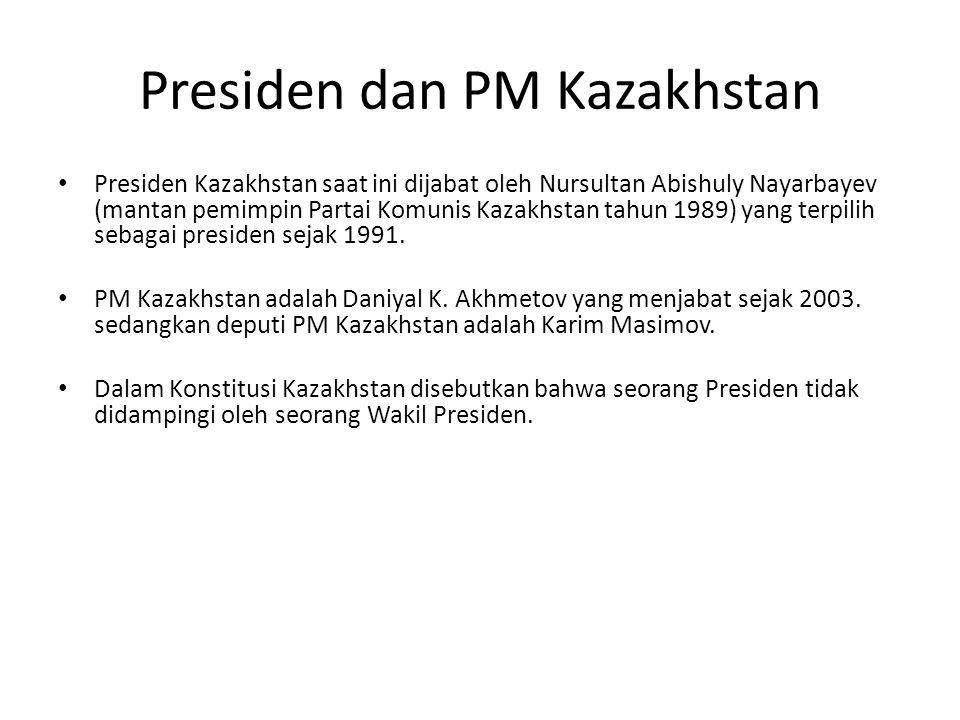 Presiden dan PM Kazakhstan