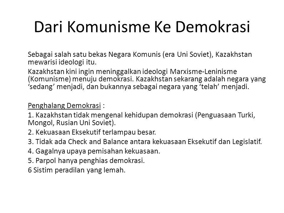 Dari Komunisme Ke Demokrasi