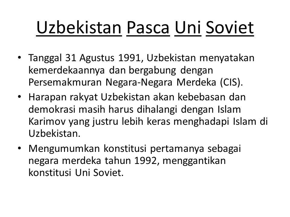 Uzbekistan Pasca Uni Soviet
