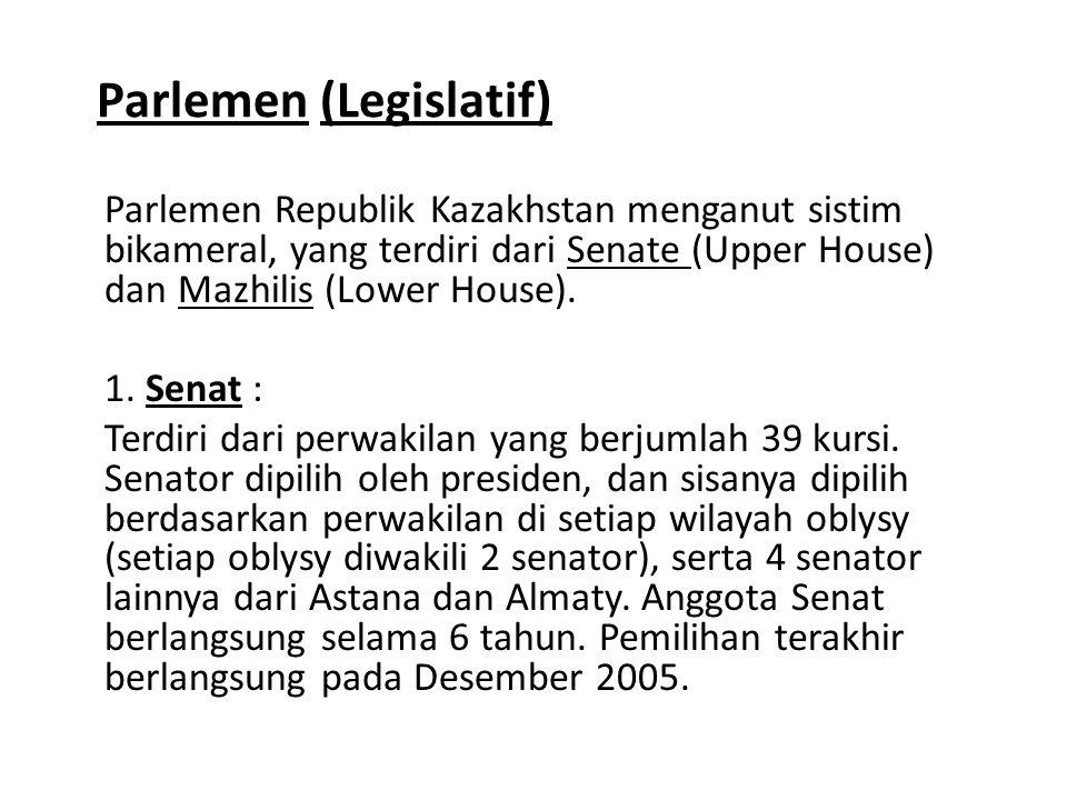 Parlemen (Legislatif)