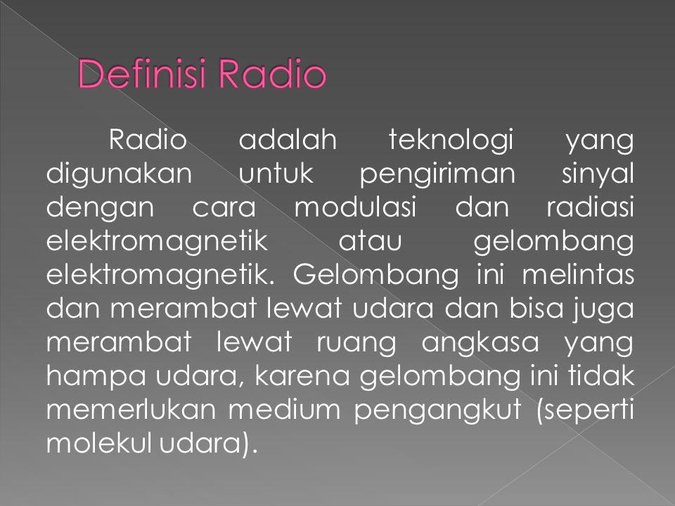 Definisi Radio