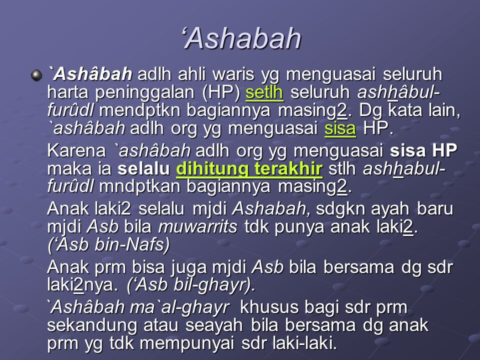 'Ashabah