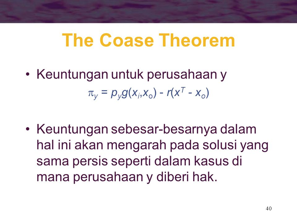 the coase theorem 'for those eager to learn more about the phenomenon that is the coase theorem, this collection makes an excellent resources, one that exposes the reader to.