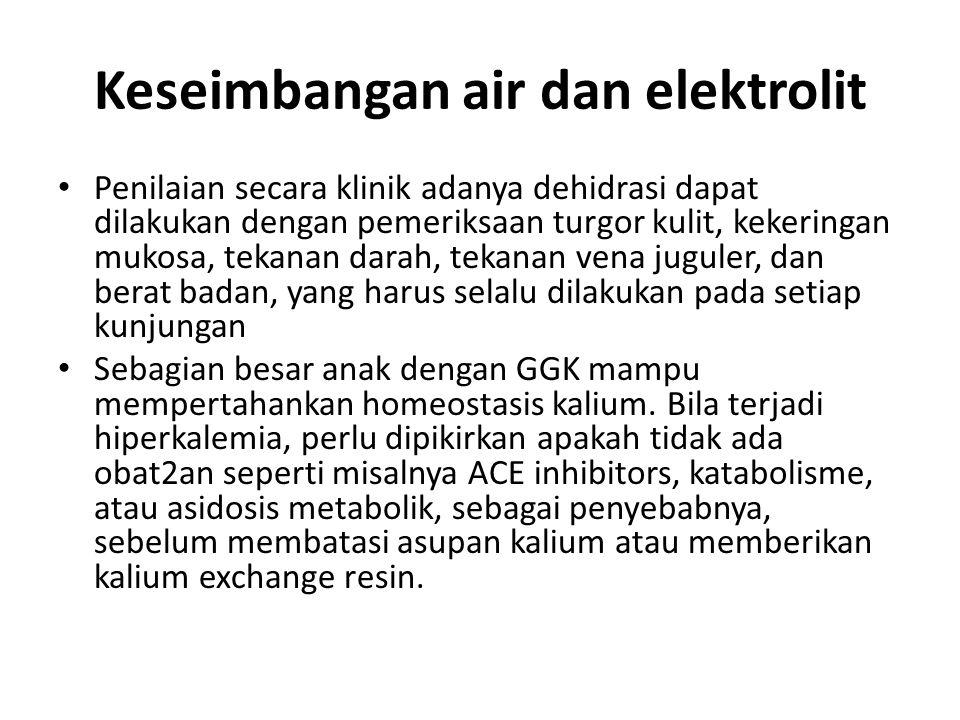 Keseimbangan air dan elektrolit