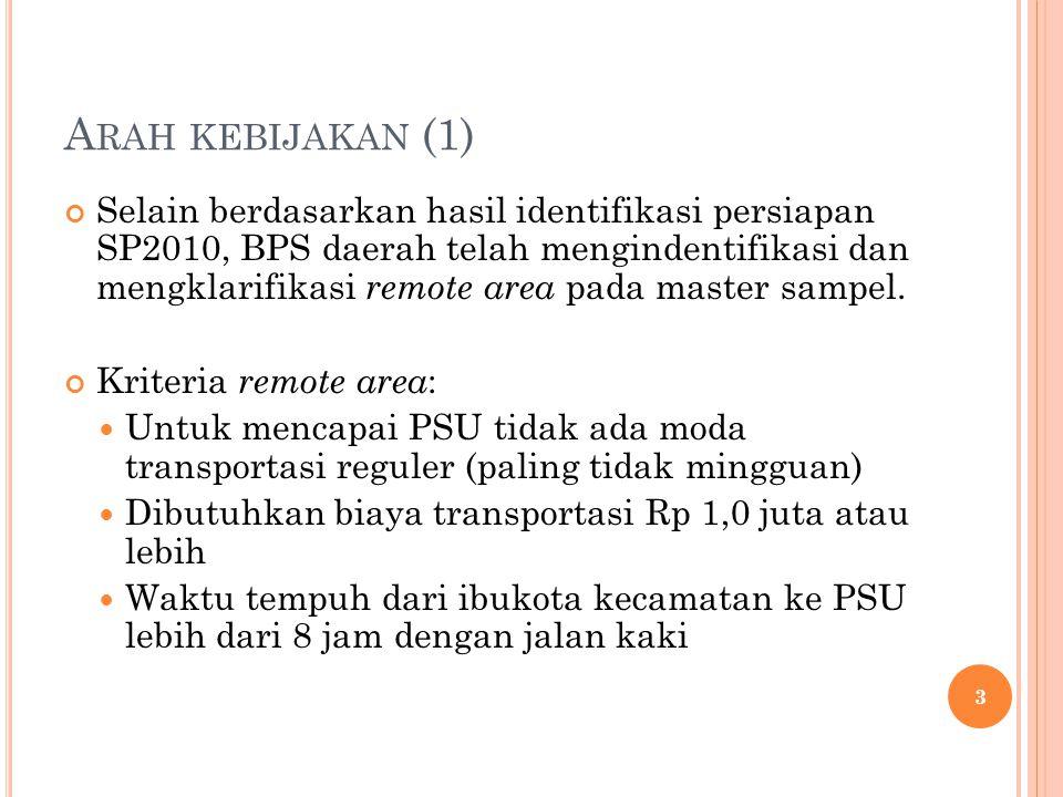 Arah kebijakan (1)
