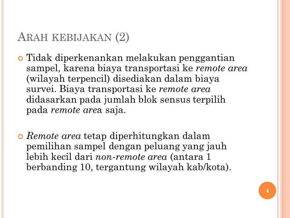 Arah kebijakan (2)
