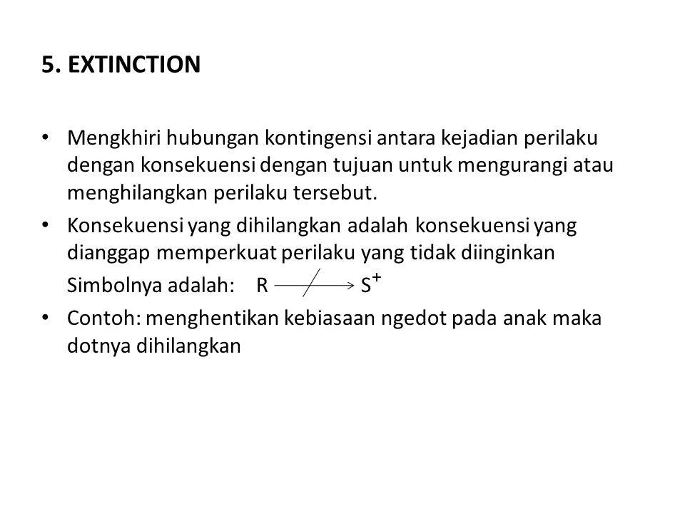 5. EXTINCTION