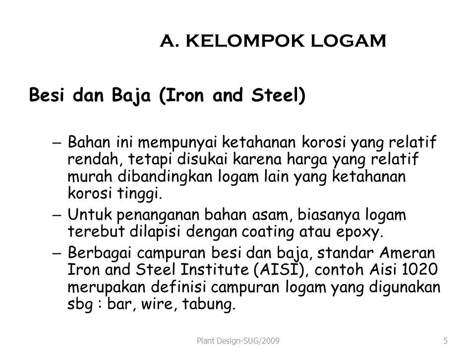 Besi dan Baja (Iron and Steel)