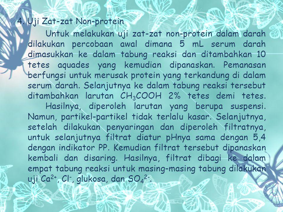 4. Uji Zat-zat Non-protein