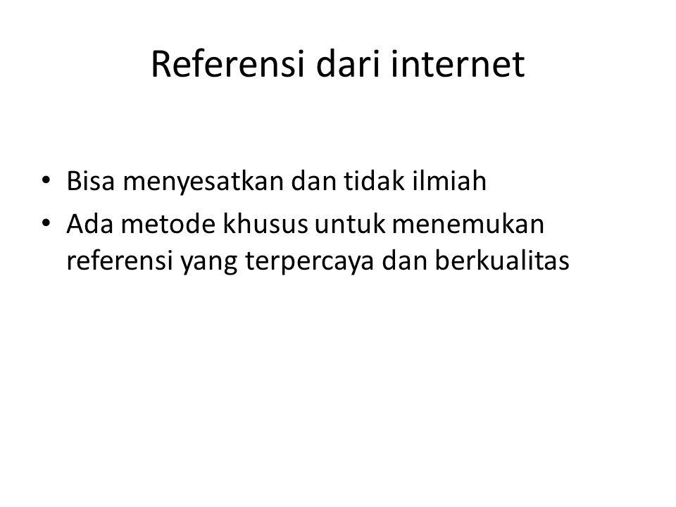 Referensi dari internet