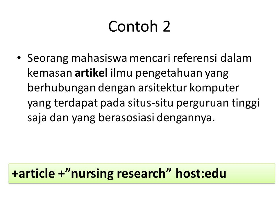 Contoh 2 +article + nursing research host:edu