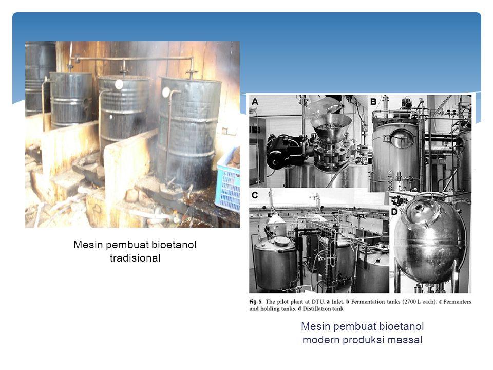 Mesin pembuat bioetanol tradisional