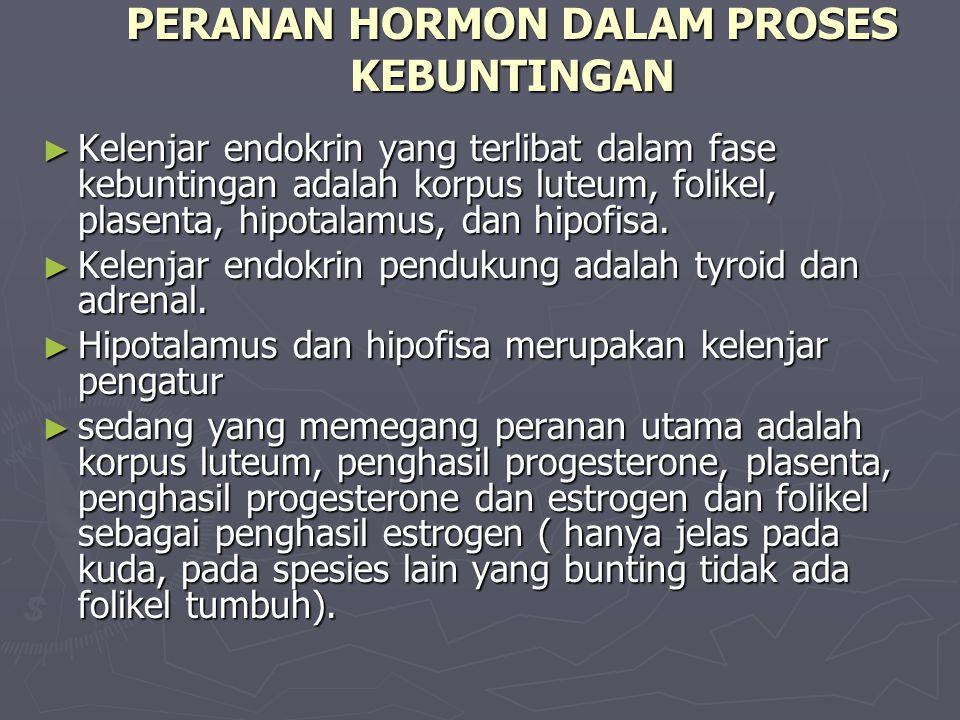 PERANAN HORMON DALAM PROSES KEBUNTINGAN