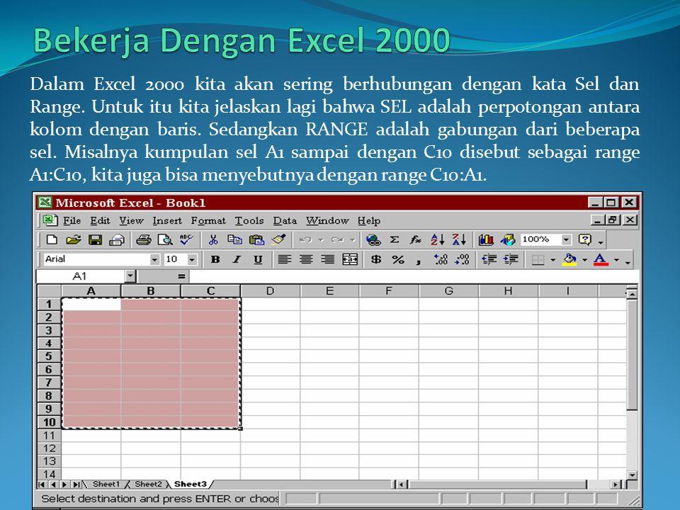 Bekerja Dengan Excel 2000