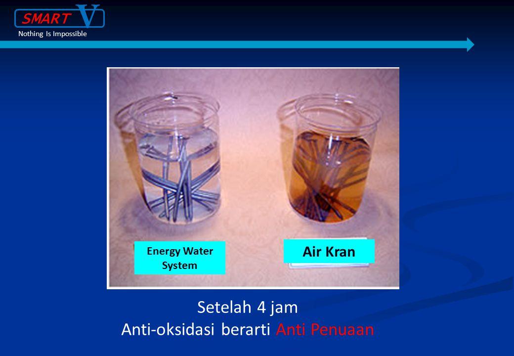 Anti-oksidasi berarti Anti Penuaan