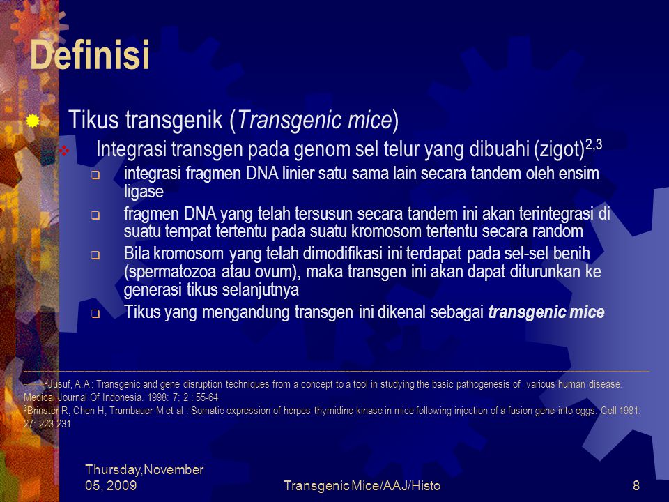 Transgenic Mice/AAJ/Histo