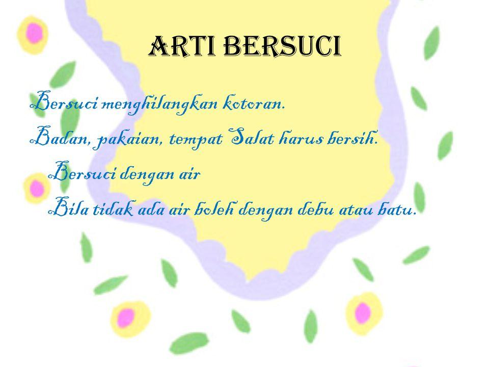 Arti Bersuci