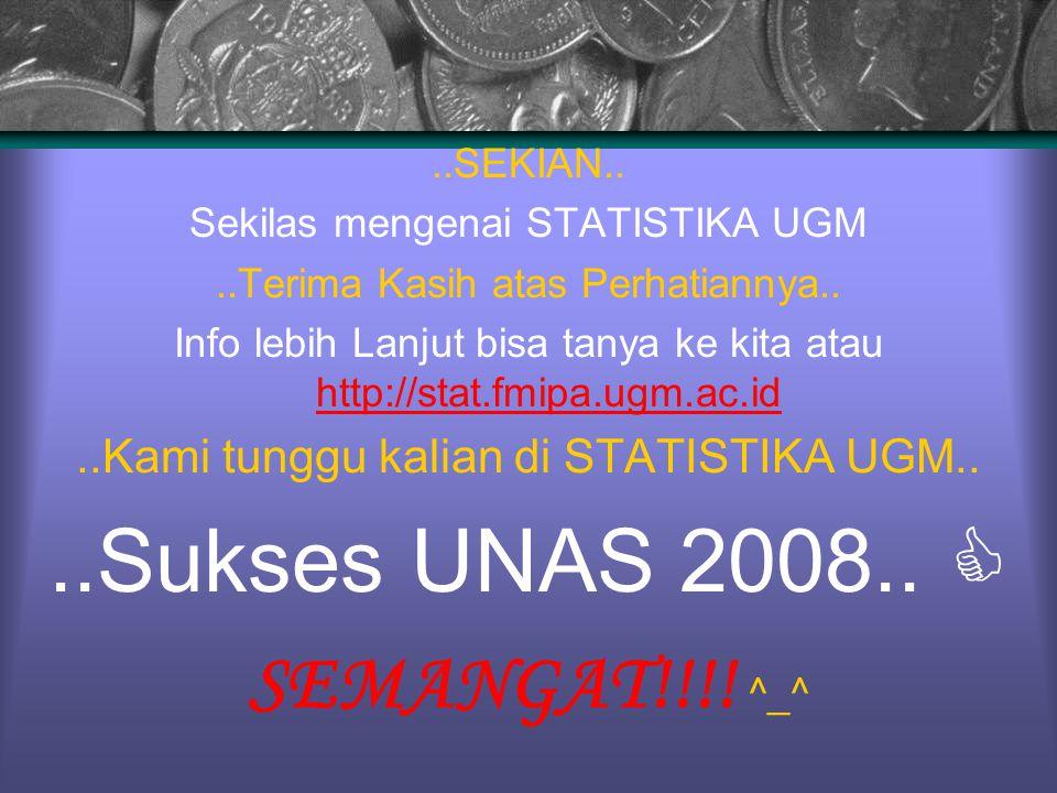 ..Sukses UNAS 2008..  SEMANGAT!!!! ^_^