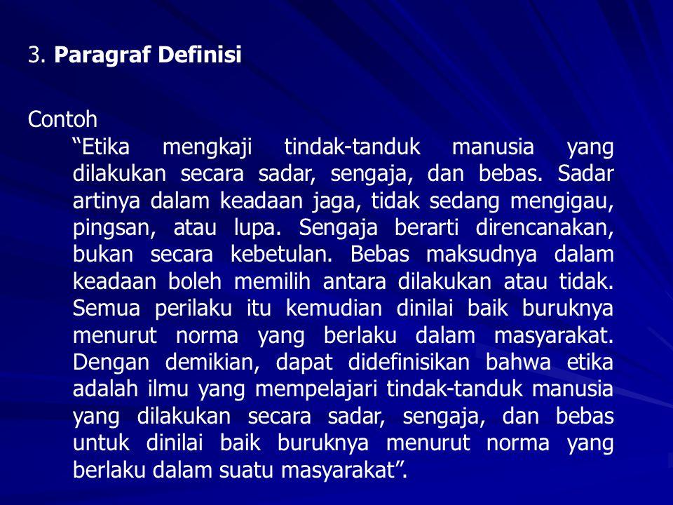 3. Paragraf Definisi Contoh.