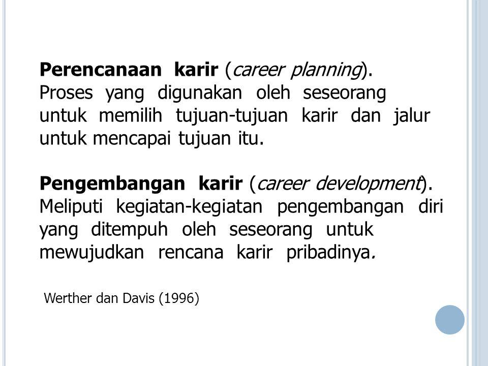 Perencanaan karir (career planning)