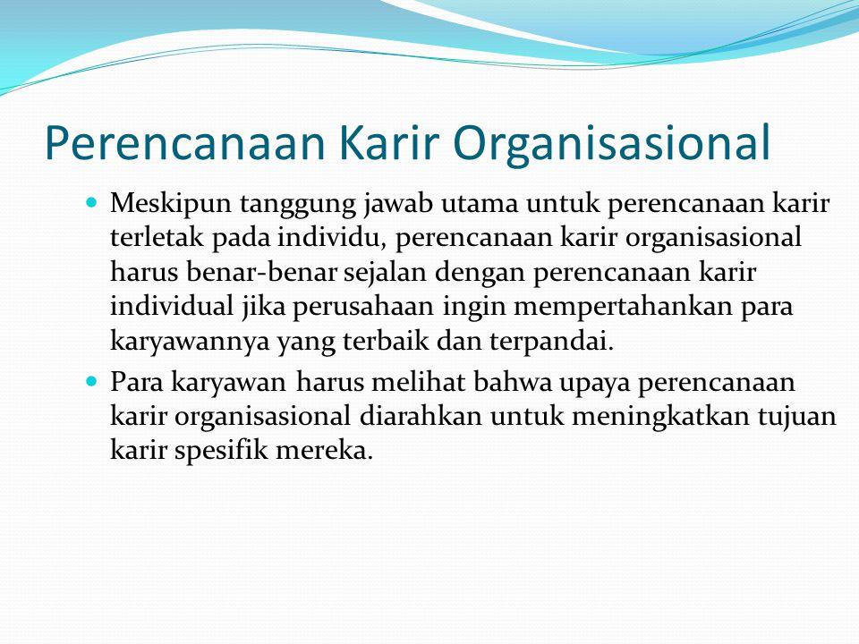 Perencanaan Karir Organisasional