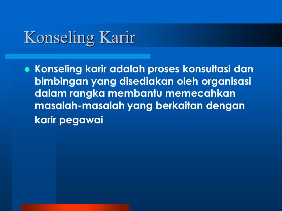 Konseling Karir