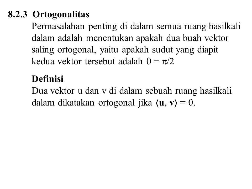 8.2.3 Ortogonalitas