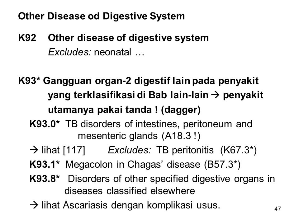 Other Disease od Digestive System